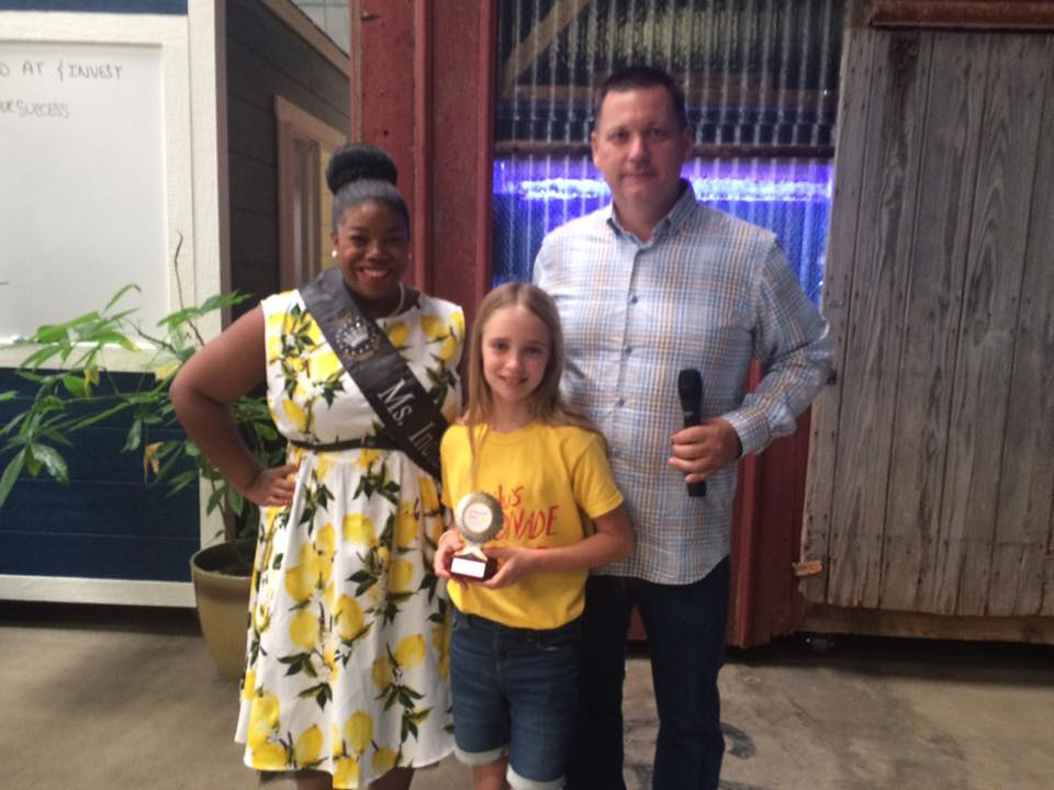 2017 Lemonade Day Entrepreneur of the Year