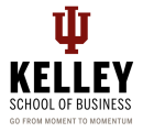 IU Kelley School of Business logo featuring their motto.