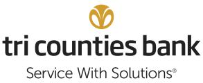 Thank You to our Sponsor Tri Counties Bank